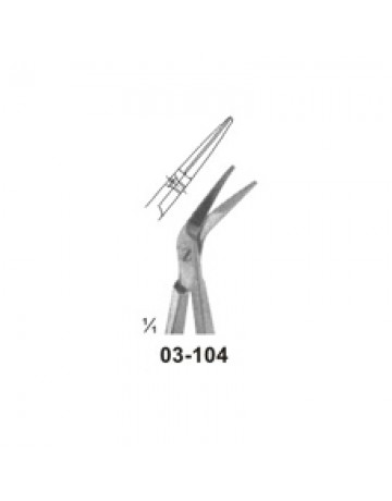 Micro Scissors (Spring Type )with Flat Handles
