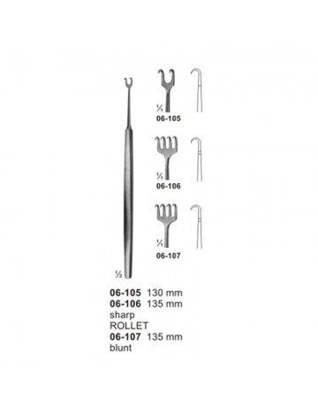 Fine Wound Retactors (Dura-and Skin Retractors)